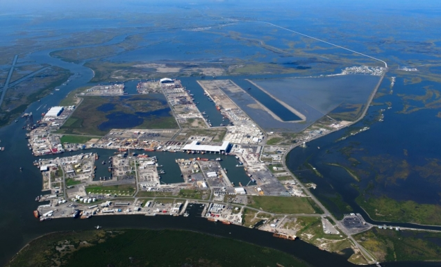Current Port Fourchon Aerial